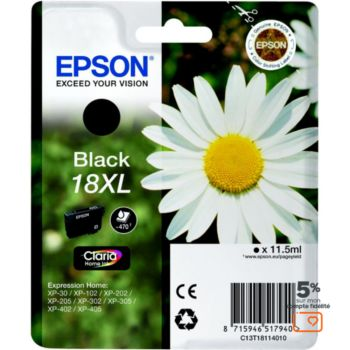 Epson T1811 XL Noire série Paquerette