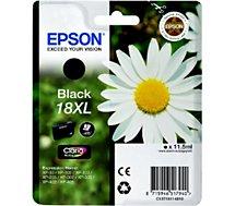 Cartouche d'encre Epson  T1811 XL Noire série Paquerette