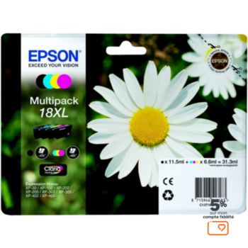 Epson T1816 XL (N/C/M/J) série Paquerette