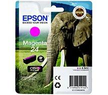 Cartouche d'encre Epson T2423 Magenta Série Eléphant
