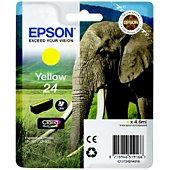 Cartouche d'encre Epson T2424 Jaune Série Eléphant