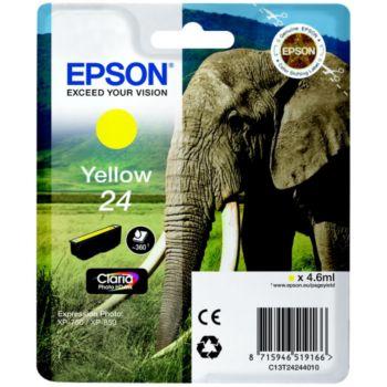 Epson T2424 Jaune Série Eléphant