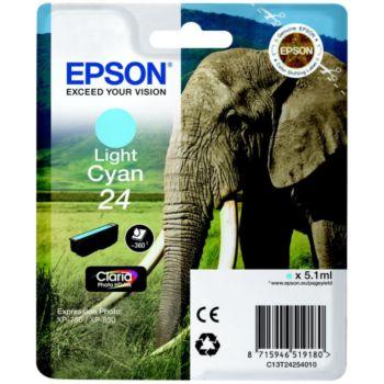 Epson T2425 Cyan Clair Série Eléphant