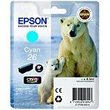 Cartouche d'encre Epson  T2612 Cyan Série Ours Polaire
