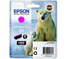 Cartouche d'encre Epson T2613 Magenta Série Ours Polaire