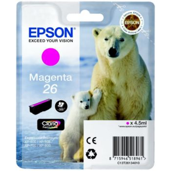 Epson T2613 Magenta Série Ours Polaire