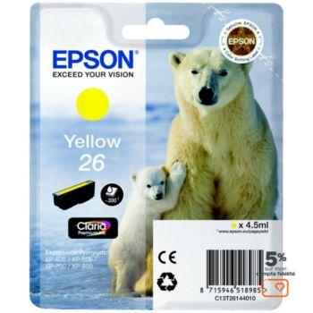 Epson T2614 Jaune Série Ours Polaire