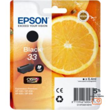 Epson T3331 Noire Premium Série Orange
