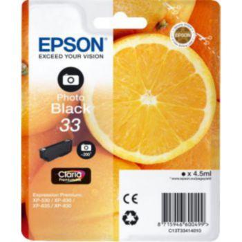 Epson T3341 Noire Photo Premium Série Orange