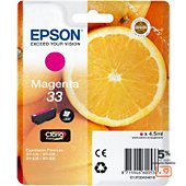 Cartouche d'encre Epson T3343 Magenta Premium Série Orange