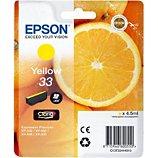 Cartouche d'encre Epson  T3344 Jaune Premium Série Orange