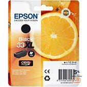Cartouche d'encre Epson T3351 Noire XL Premium Série Orange