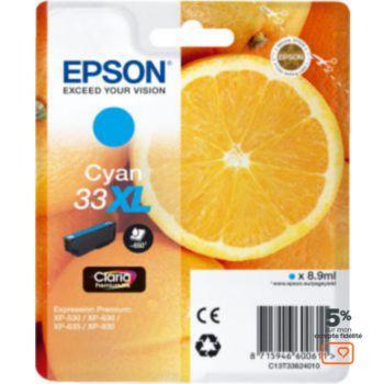 Epson T3362 Cyan XL Premium Série Orange