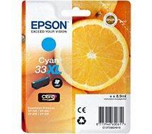 Cartouche d'encre Epson  T3362 Cyan XL Premium Série Orange