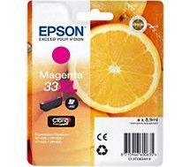 Cartouche d'encre Epson  T3363 Magenta XL Premium Série Orange