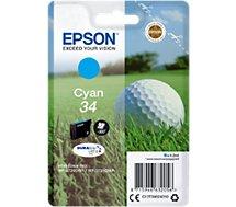 Cartouche d'encre Epson T3462 Cyan Série Balle de golf