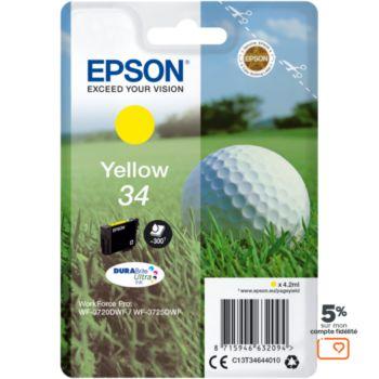 Epson T3464 Jaune Série Balle de golf