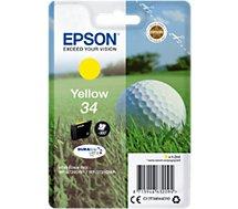 Cartouche d'encre Epson T3464 Jaune Série Balle de golf