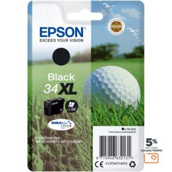 Epson T3471 Noire XL Série Balle de golf