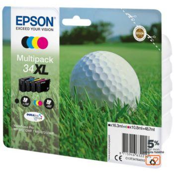 Epson T3476 (N/C/M/J) XL Série Balle de golf