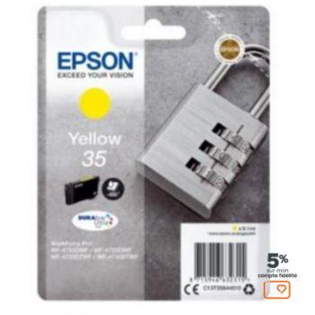 Epson T3584 Jaune Série Cadenas