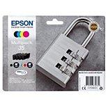 Cartouche d'encre Epson  T3586 N/C/M/J Série Cadenas