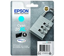 Cartouche d'encre Epson  T3592 Cyan XL Série Cadenas