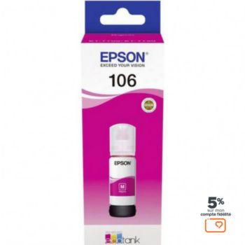 Epson Ecotank Bouteille 106 Magenta