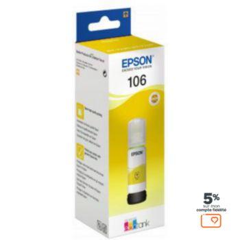 Epson Ecotank Bouteille 106 Jaune