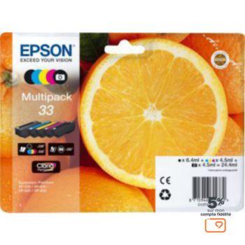 Epson T3337 (N/NP/C/M/J) Série Orange