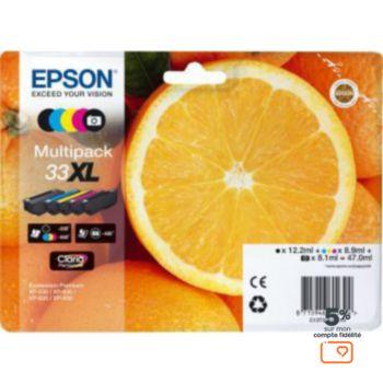Epson T3357 (N/NP/C/H/J) XL Série Orange