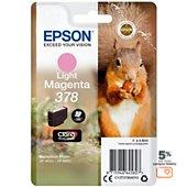 Cartouche d'encre Epson 378 Magenta clair Série Ecureuil