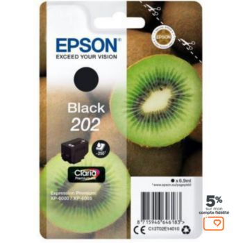 Epson 202 Noir Série Kiwi