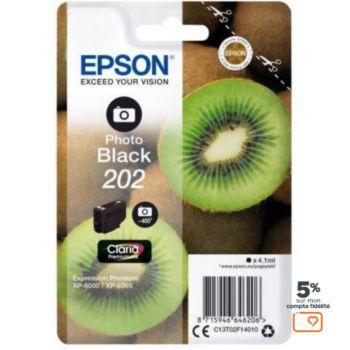 Epson 202 Noir Photo Série Kiwi