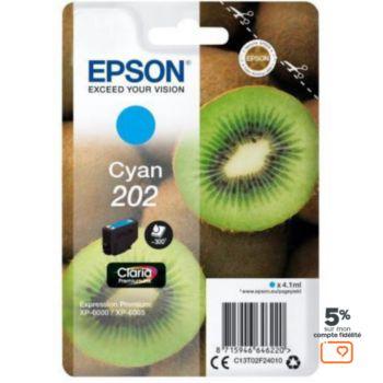 Epson 202 Cyan Série Kiwi