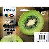 Cartouche d'encre Epson  202 (N/NP/C/M/J) XL Série Kiwi