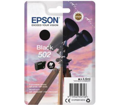 Cartouche noire Epson 502 Noir Série Jumelles