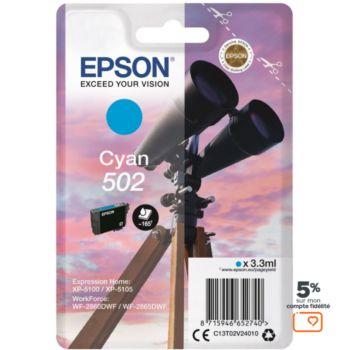 Epson 502 Cyan Série Jumelles