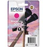 Cartouche d'encre Epson  502 Magenta Série Jumelles