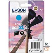 Cartouche d'encre Epson 502 Cyan XL Série Jumelles