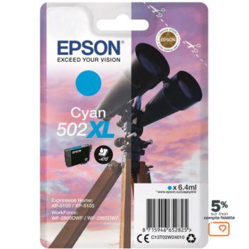 Epson 502 Cyan XL Série Jumelles