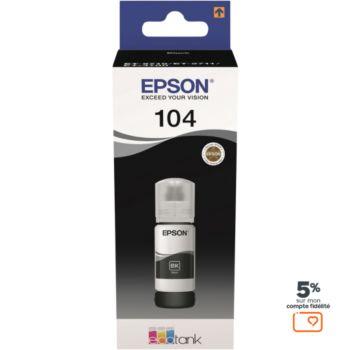 Epson Ecotank Bouteille 104 Noir