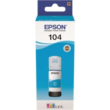 Epson Ecotank Bouteille 104 Cyan
