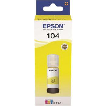 Epson Ecotank Bouteille 104 Jaune