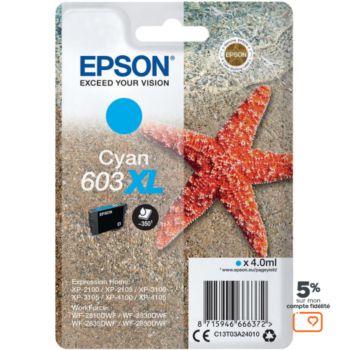 Epson 603XL Etoile de Mer Cyan
