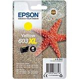 Cartouche d'encre Epson  603XL Etoile de Mer Jaune
