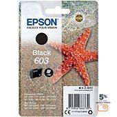 Cartouche d'encre Epson 603 Etoile de Mer Noir