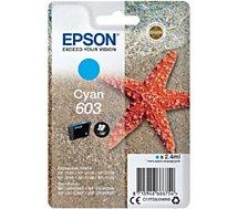 Cartouche d'encre Epson  603 Cyan Etoile de Mer