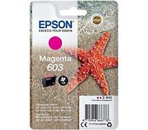 Cartouche d'encre Epson  603 Magenta Etoile de Mer