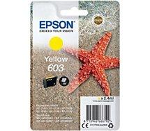 Cartouche d'encre Epson  603 Jaune Etoile de Mer